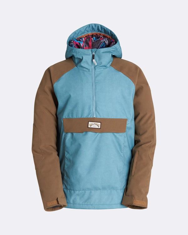 0 Men's Stalefish Outerwear Jacket Blue MSNJQSTA Billabong