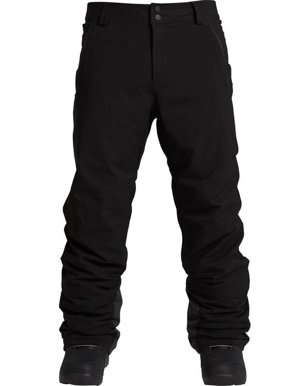 0 Men's Compass Outerwear Pants Black MSNPQCOM Billabong