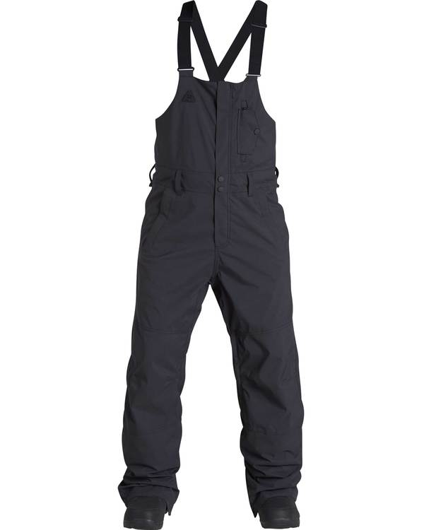 0 Men's North West Outwearwear Pant / Bib Black MSNPQNWB Billabong