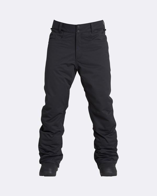 0 Men's Outsider Outerwear Snow Pants Black MSNPQOUT Billabong