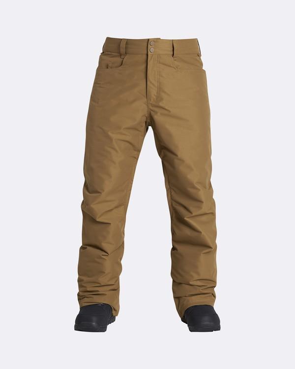 0 Men's Outsider Outerwear Snow Pants Yellow MSNPQOUT Billabong