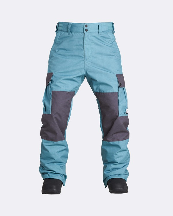 0 Men's Transport Outerwear Snow Pants Blue MSNPQTRA Billabong