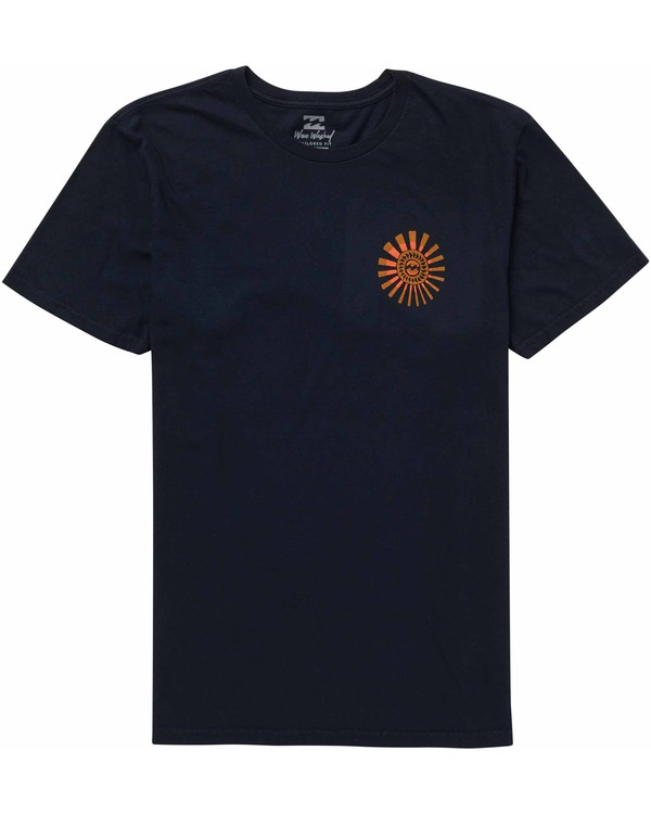 0 Dreamwheel Tee Blue MT10NBDW Billabong