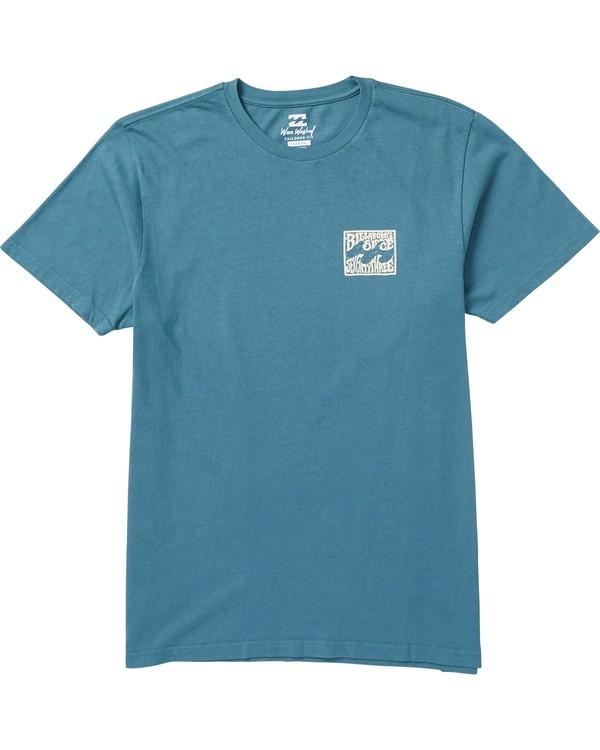 0 Capistrano Graphic T-Shirt Blue MT10SBCA Billabong