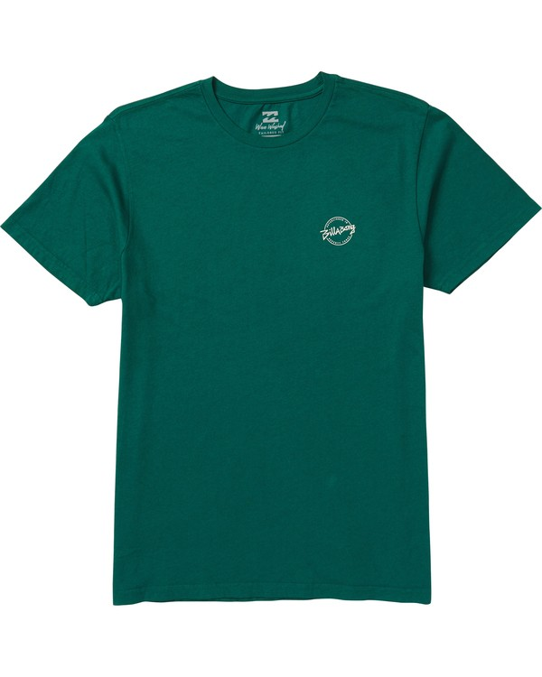0 Eighty Six Graphic T-Shirt Green MT10SBEI Billabong