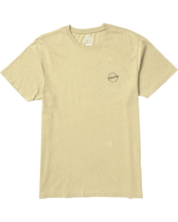 0 Eighty Six Graphic T-Shirt Yellow MT10SBEI Billabong