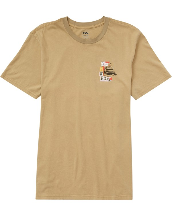 0 Men's Eighty 5 Tee Beige MT45PBE5 Billabong
