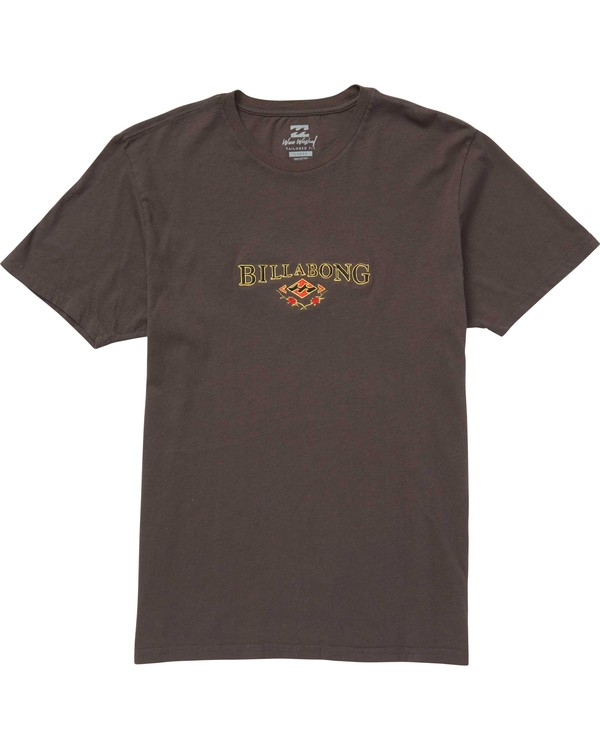 0 Reissue Embroidery Tee Grey MT47QBRE Billabong