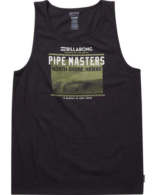 0 Pipe Masters Poster Tank  MT83NBPP Billabong