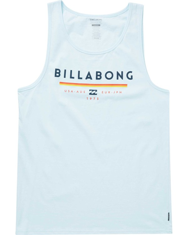 0 Unity Tank Blue MT83PBUN Billabong