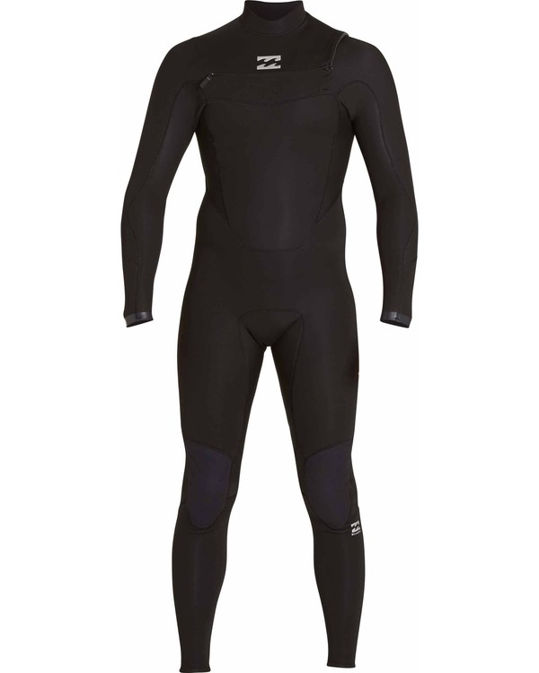 0 3/2 Absolute Chest Zip Fullsuit Black MWFULAC3 Billabong