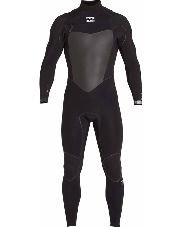 0 3/2 Furnace Carbon X Chest Zip Wetsuit Black MWFULCX3 Billabong