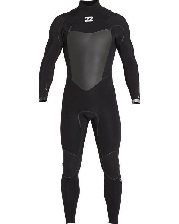 0 4/3 Furnace Carbon X Chest Zip Fullsuit Black MWFULCX4 Billabong
