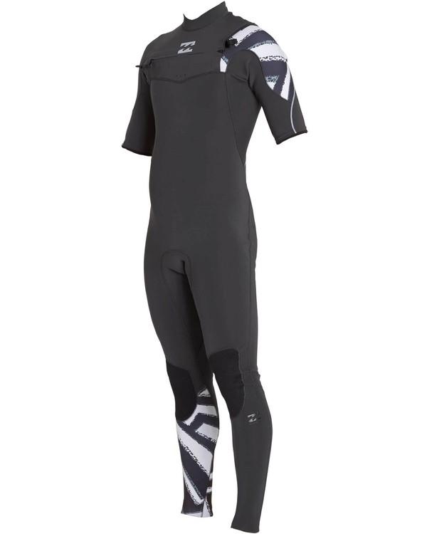 0 2/2 Furnace Carbon Comp Short Sleeve Fullsuit Black MWFULFC2 Billabong