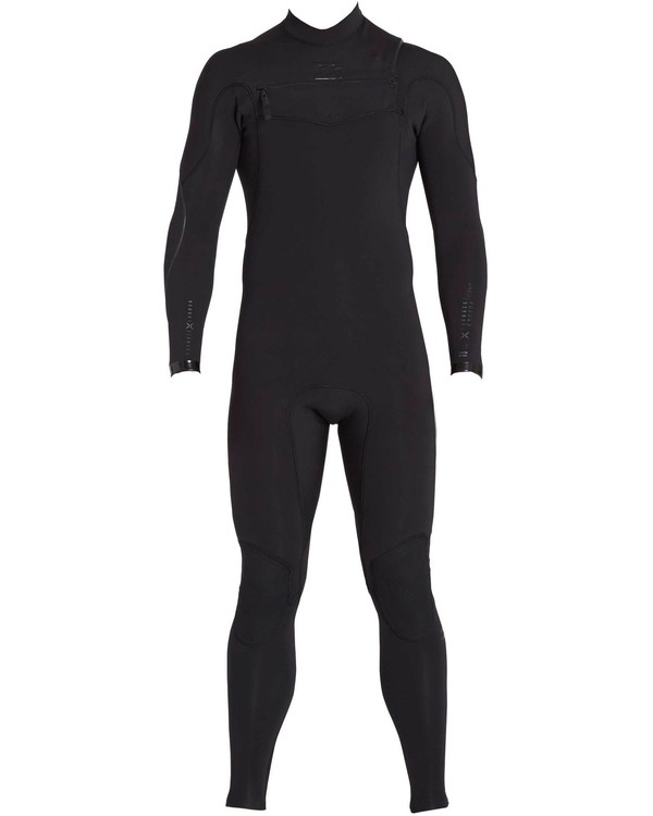 0 3/2 Furnace Carbon Comp Chest Zip Fullsuit Black MWFULFC3 Billabong