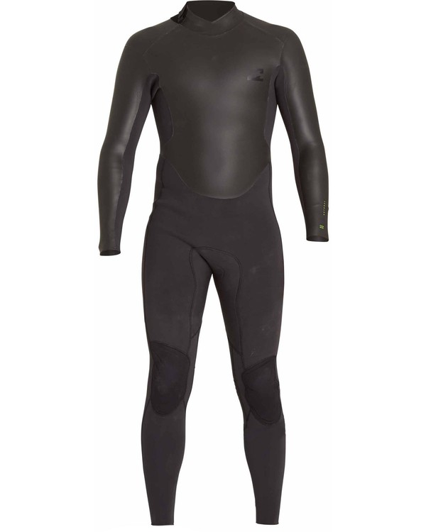 0 3/2 Revolution Ninja Zip Fullsuit Black MWFULNZ3 Billabong