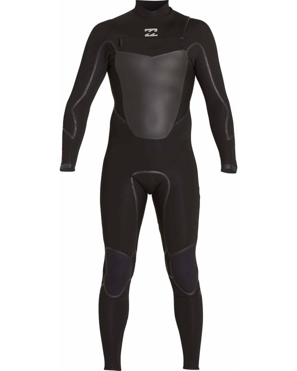 0 4/3 Absolute X Chest Zip Fullsuit Black MWFULXC4 Billabong