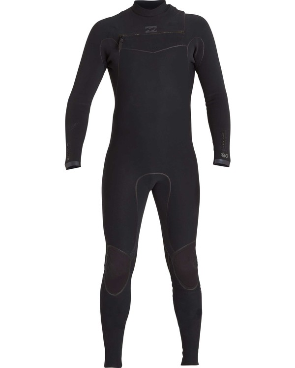 0 2/2 Furnace Carbon Ultra Chest Zip Fullsuit Black MWFUNBU2 Billabong