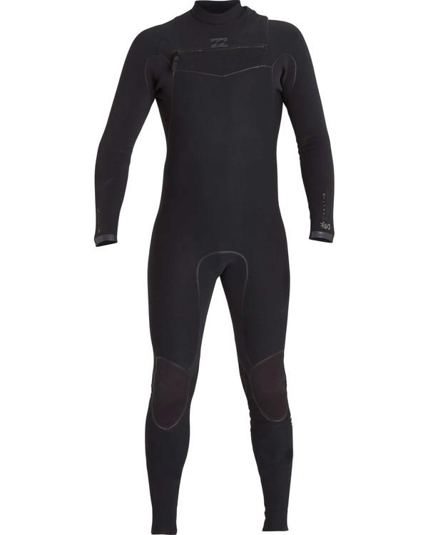 0 2/2 Furnace Carbon Ultra Chest Zip Fullsuit Black MWFUNBU2 Billabong