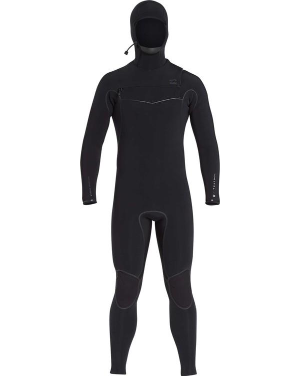 0 6/5 Furnace Carbon Ultra Hooded Black MWFUQBH6 Billabong