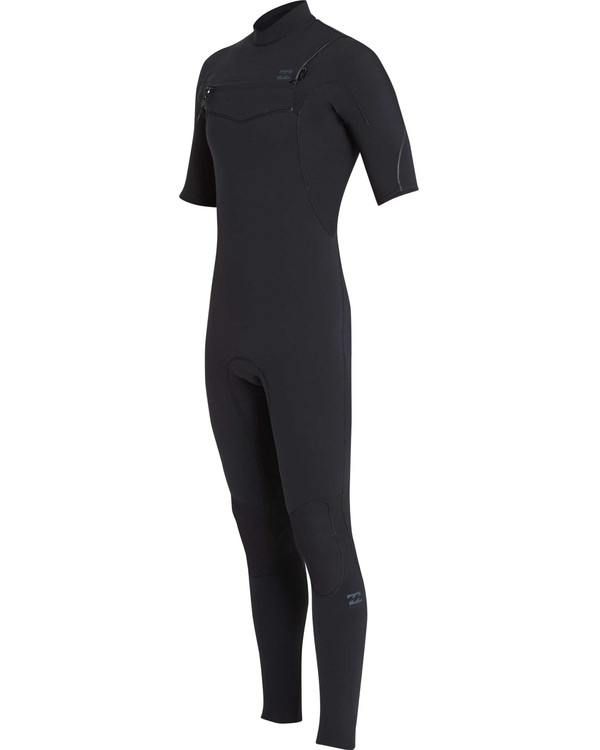 0 2/2 Furnace Carbon Comp Short Sleeve Fullsuit Black MWFUQBN2 Billabong