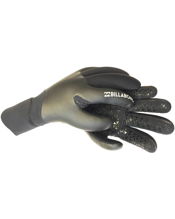 0 3mm Furnace Carbon X Glove Black MWGLLCX3 Billabong