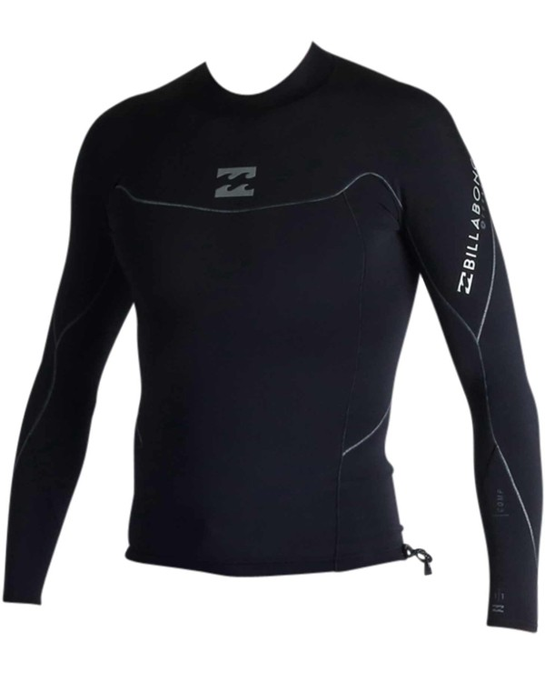 0 1mm Pro-Series Long Sleeve Wetsuit Jacket Black MWSHJPS1 Billabong