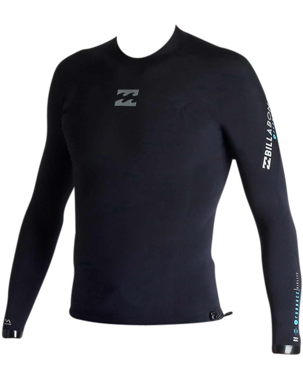 0 1mm Pro-Series X Long Sleeve Wetsuit Jacket Black MWSHJPX1 Billabong
