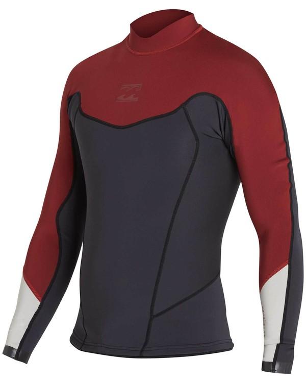 0 2/2 Absolute Comp Long Sleeve Jacket Red MWSHNBAL Billabong