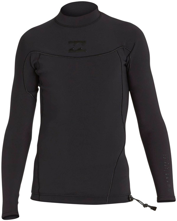 0 1mm Pro Series Airlite Long Sleeve Jacket Black MWSHNBP1 Billabong