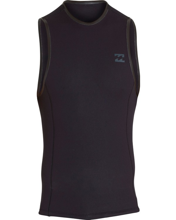 0 2mm Revolution Vest Black MWSHNBRV Billabong