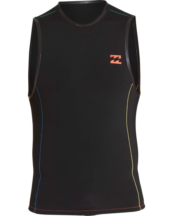 0 Reverb Fazon Revolution Vest Black MWSHQBFA Billabong