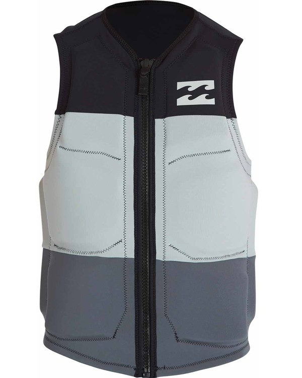 0 TRI BONG WAKE VEST Black MWVEJTRI Billabong