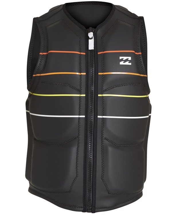 0 Momentum Wake Vest Black MWVENBMO Billabong