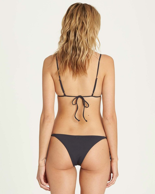 0 Sol Searcher Tie Side Isla Bikini Bottom Black XB01LSOL Billabong