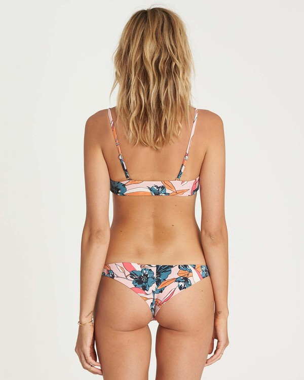 0 Coastal Luv Tanga Bikini Bottom Pink XB03NBCO Billabong