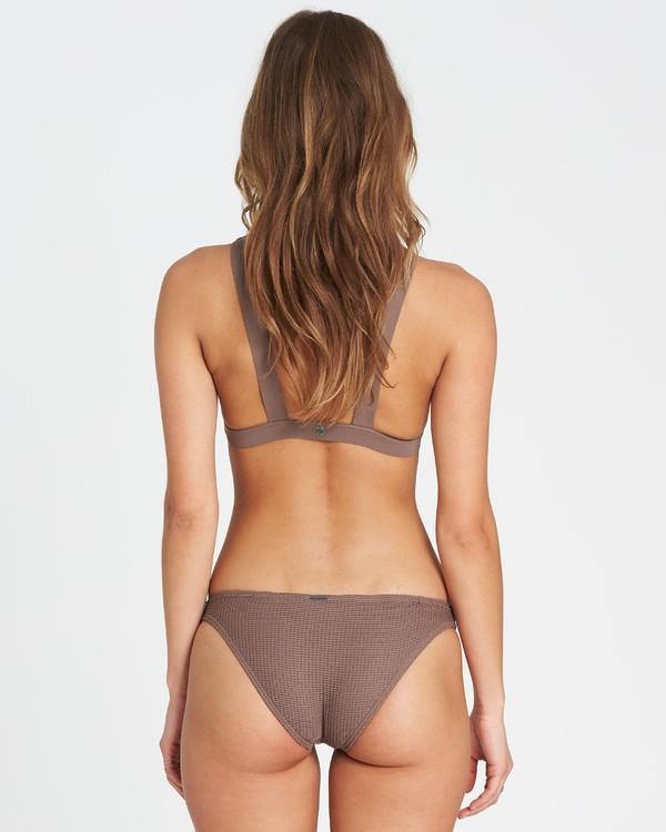 0 Meshed Up Tropic Bikini Bottom Beige XB04SBME Billabong