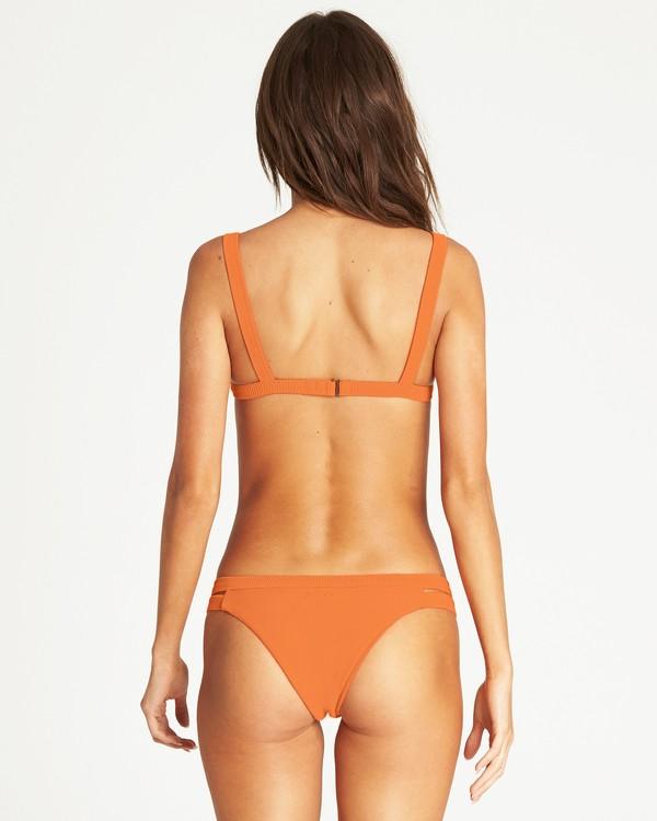 0 Tanlines Isla Bikini Bottom Orange XB10PBTA Billabong