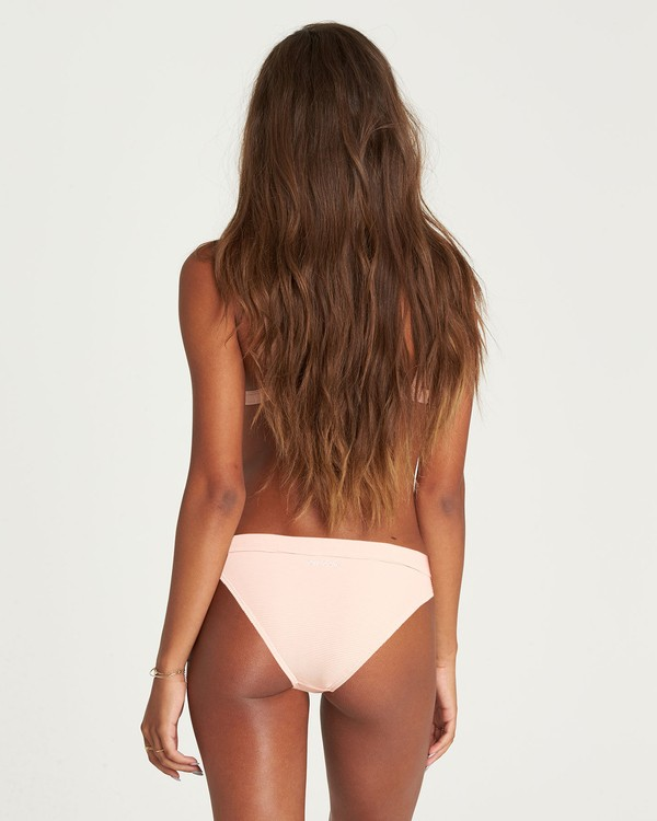 0 Tanlines Tropic Bikini Bottom Pink XB18NBTA Billabong