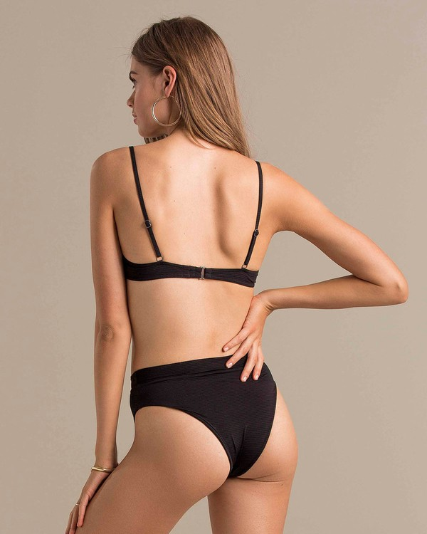 0 All You Retro Bikini Bottom Black XB46NBAL Billabong