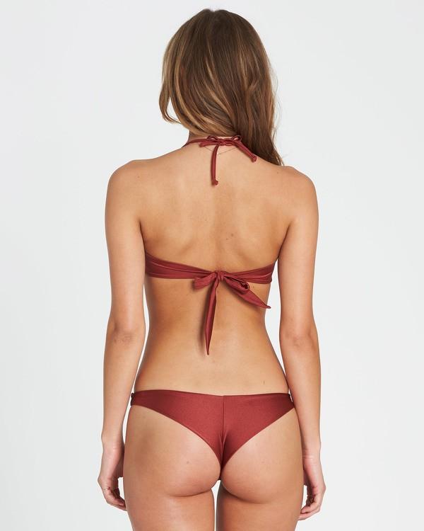 0 Sol Searcher Tanga Bikini Bottom Red XB52JSOL Billabong