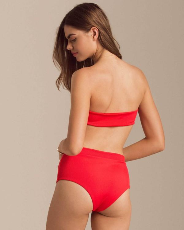 0 Fired Up Retro Bikini Bottom Red XB56PBFI Billabong