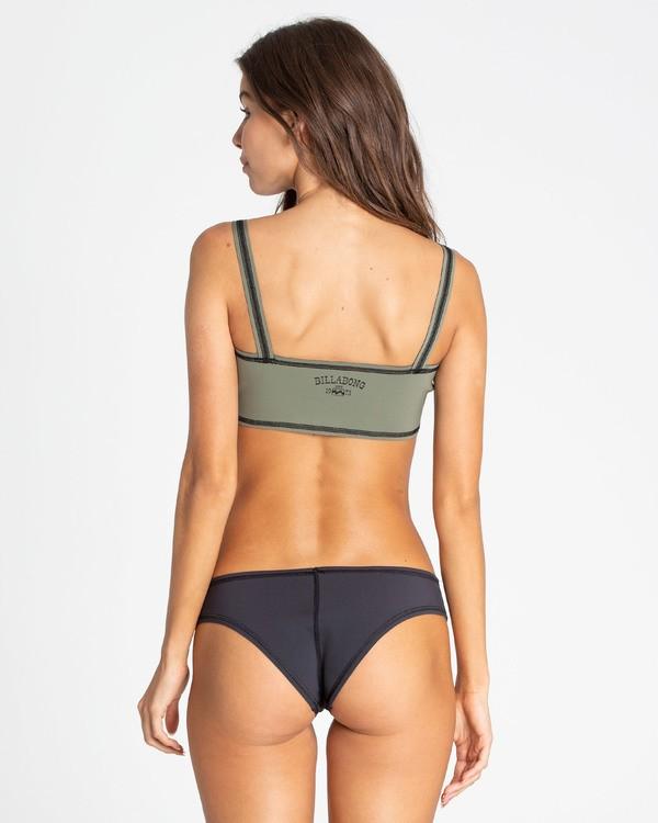 0 Del Sur Hawaii Lo Reversible Bikini Bottom Black XB64TBDE Billabong