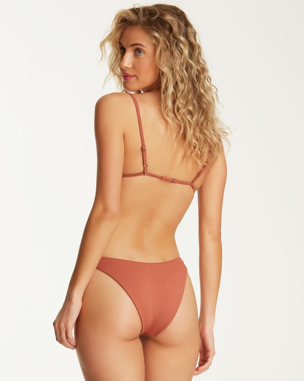 0 Kissed By The Sun Hike Bikini Bottom Brown XB80TBKI Billabong