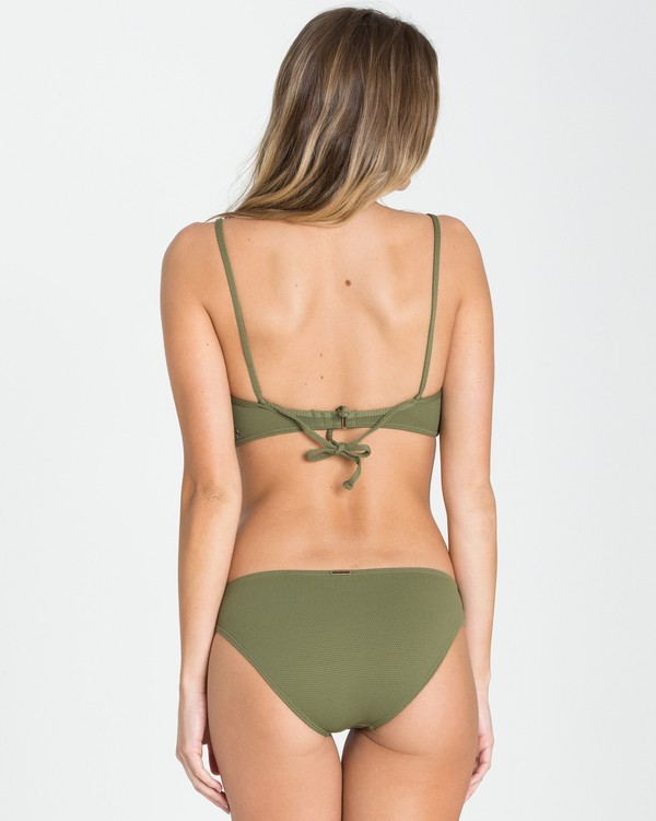0 Love Myself Lowrider Bikini Bottom Green XB93NBLO Billabong