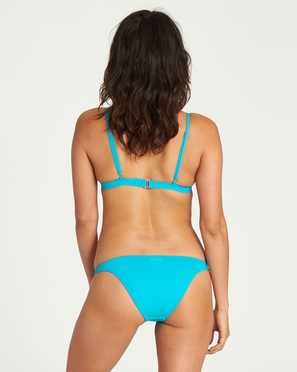 0 Surfside Tropic Bikini Bottom Blue XB99NBSU Billabong