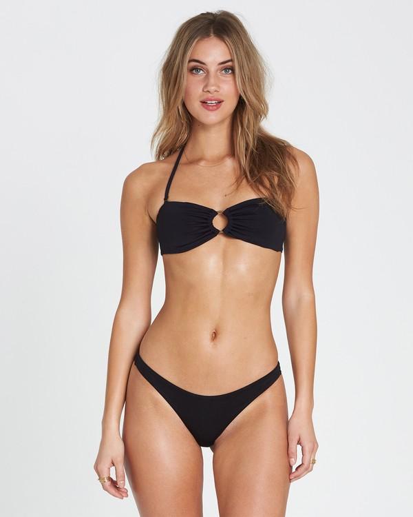 0 Sol Searcher Bandeau  Bikini Top Black XT01SBSO Billabong
