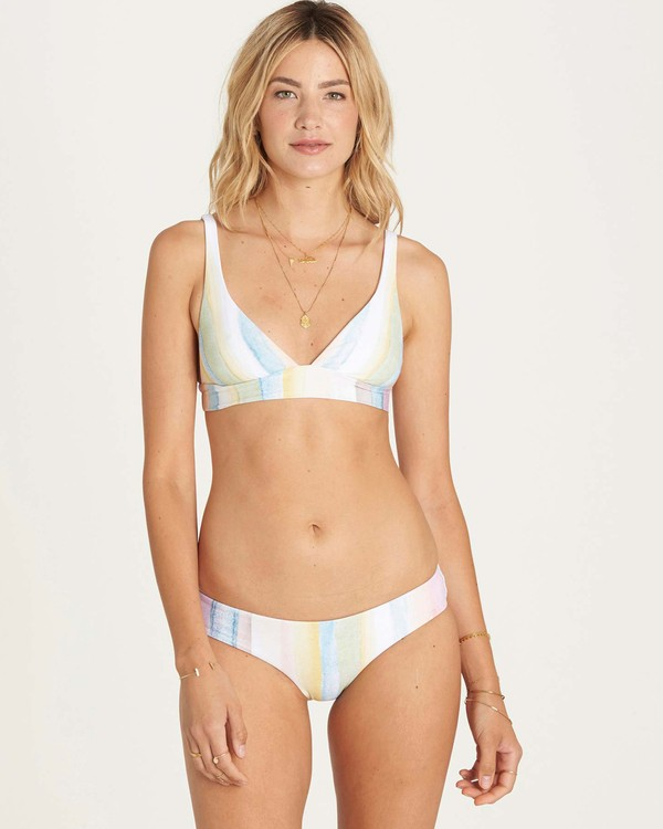 0 Desert Dream Banded Triangle Bikini Top  XT07LDES Billabong