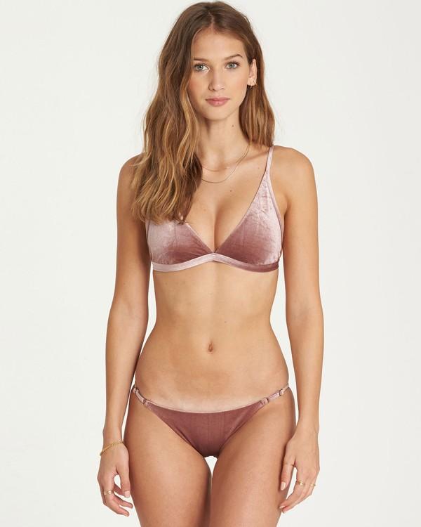 0 Fool4U High Point Tri Bikini Top Purple XT16QBFO Billabong