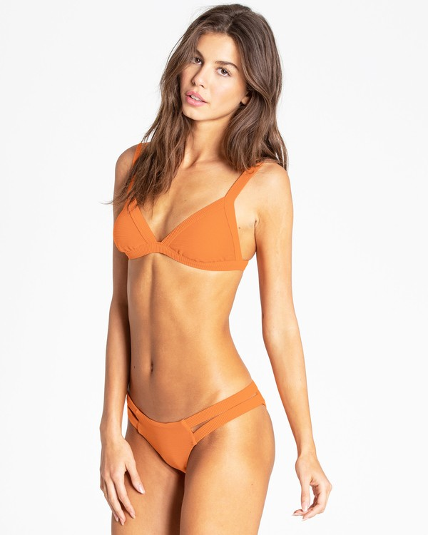 0 Tanlines Fixed Tri Bikini Top Orange XT20NBTA Billabong